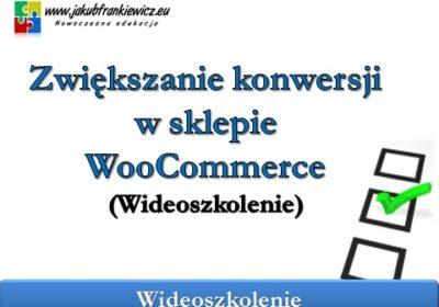 woocommerce konwersja