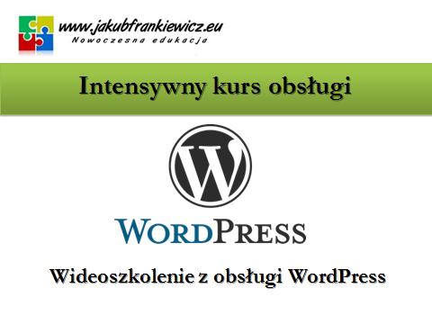 wordpress szkolenie jf